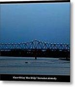 Clover H Cary Bridge Metal Print