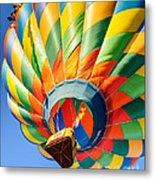 Clovis Hot Air Balloon Fest 5 Metal Print