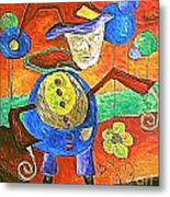 Clown 530-11-13 Marucii Metal Print