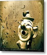 Clown Games  Metal Print by Colleen Kammerer