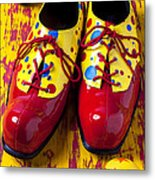 Clown Shoes And Balls Metal Print