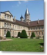 Cluny Abbey - Burgundy Metal Print