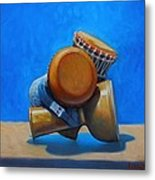 Cluster Drum Metal Print by Kevin Lawrence Leveque