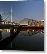 Clydeside Reflections  Metal Print