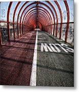 Clydeside Walkway Metal Print by John Farnan