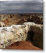 Coal Mine Mesa 08 Metal Print