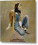 Coal Miner's Daughter  Metal Print