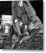 Coal Mining Days Metal Print