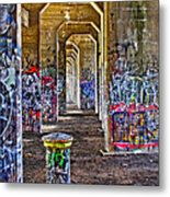 Coal Piers Metal Print