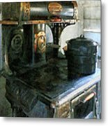 Coal Stove Metal Print