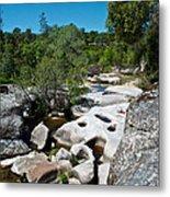 Coarsegold Creek Bed In Park Sierra-ca Metal Print