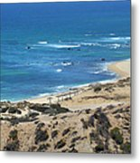 Coast Baja California Metal Print