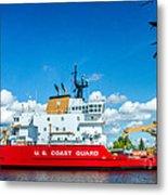 Coast Guard Cutter Mackinaw Metal Print