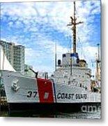 Coast Guard Cutter Taney Metal Print