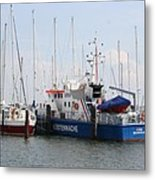 Coast Guard Maasholm Harbor Metal Print