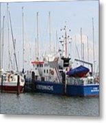 Coast Guard Maasholm Harbor Metal Print