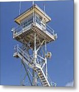 Coast Guard Tower Metal Print