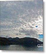 Coast N Clouds 1 Metal Print