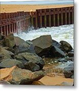 Coast Of Carolina Metal Print