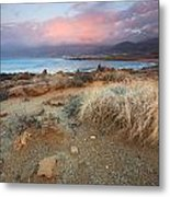 coast of Crete 'I Metal Print