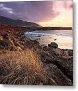 coast of Crete 'IV Metal Print