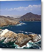 Coast Of Peru Metal Print