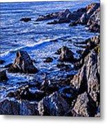 Coastal Cliffs Metal Print