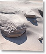 Coastal Dunes In Holland 1. Metal Print