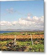 Coastal Landscape County Mayo Metal Print