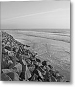 Coastal Lines Metal Print