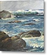 Coastal Maine Metal Print