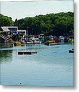 Coastal Maine Bay Metal Print
