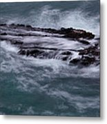 Coastal Rocks Off Rancho Palo Verdes Photography By Denise Dube Metal Print