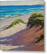 Coastal Sand Metal Print by Graham Gercken