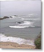 Coastal Scene 2 Metal Print
