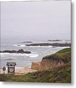 Coastal Scene 7 Metal Print