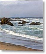 Coastal Serenity  Metal Print