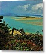 Coastal Storm Metal Print