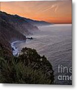 Coastal Sunrise II Metal Print