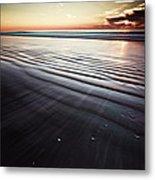 Coastal Sunrise Seascape Contemporary Relaxing Wall Art On Canvas Prints Metal Print