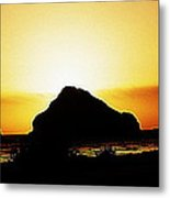 Coastal Sunset IIl Metal Print