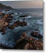 Coastal Tranquility Metal Print by Mike Reid