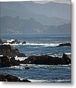 Coastal View - Big Sur II Metal Print