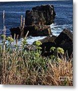 Coastal View From Cascais  Metal Print