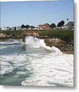 Coastline  Santa Cruz -  California Metal Print