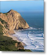 Coastline At Point Reyes National Sea Metal Print