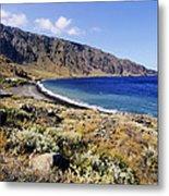 Coastline Of Hierro Island Metal Print