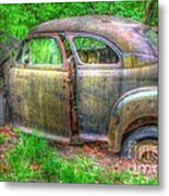 Coat Of Different Colors- Auto Personalities #3 Metal Print