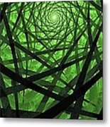 Coaxial Jungle Metal Print
