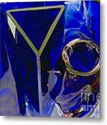 Cobalt Therapy Metal Print